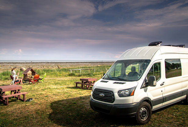 Wifi Internet for Vans and RV Travel photo by Alex Guillaume  | Dish Network Internet RV
